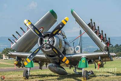Photograph - Skyraider Ad4 by Rob Heath