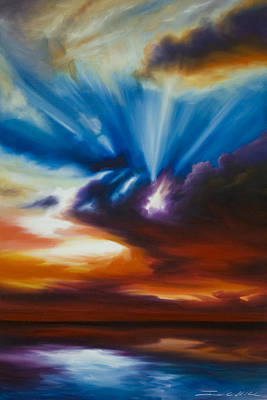 Www.landscape.com Painting - Skyrise by James Christopher Hill