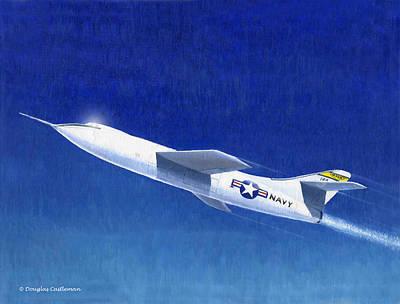 Painting - Skyrocket by Douglas Castleman