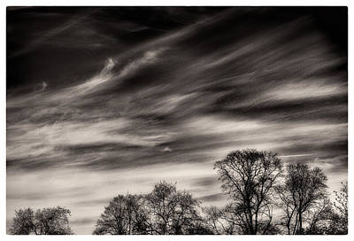 Photograph - Skyscape Wisps by Lenny Carter