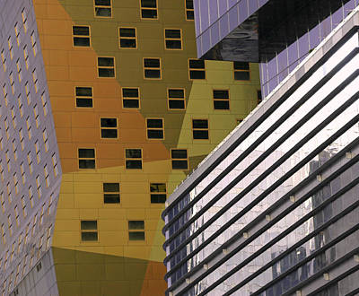 Photograph - Skyscraper Abstract 13 by Allen Beatty