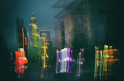 Photograph - Skyscraper Glitch by Andy Brandl