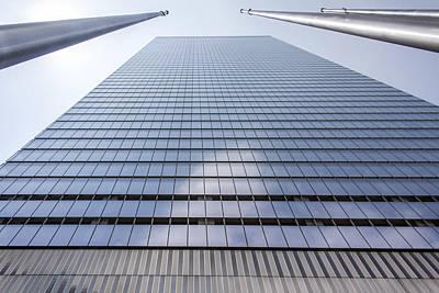 Skyscraper In New York Art Print by Rostislav Bychkov