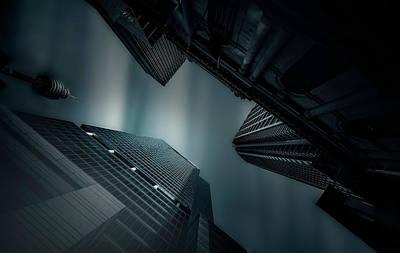 Skyscrapers Wall Art - Photograph - Skyscraper In Sydney by Weihong  Liu