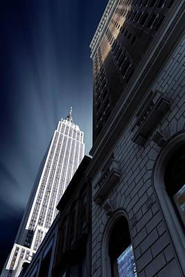 Manhattan Usa Photograph - Skyscraper by Sebastien Del Grosso