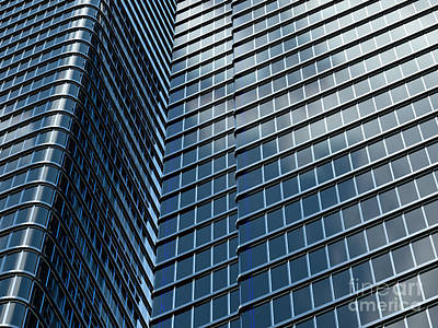Design Pics - Skyscraper with blue windows by Tomislav Zivkovic