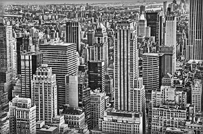 Photograph - Skyscrapers by Hanny Heim