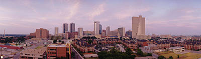 Worth Photograph - Skyscrapers In A City, Fort Worth by Panoramic Images