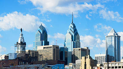 Philadelphia Scene Photograph - Skyscrapers In A City, Liberty Place by Panoramic Images