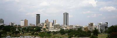 Nairobi Photograph - Skyscrapers In A City, Nairobi, Kenya by Panoramic Images