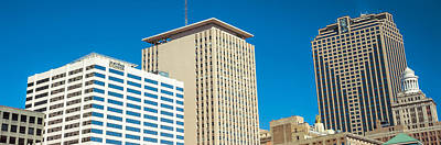 Orleans Photograph - Skyscrapers In A City, New Orleans by Panoramic Images