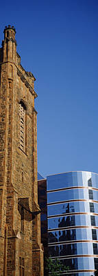 Presbyterian Photograph - Skyscrapers In A City, Presbyterian by Panoramic Images