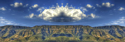 Abstract Landscape Photograph - Skyspaces by Luis Mario