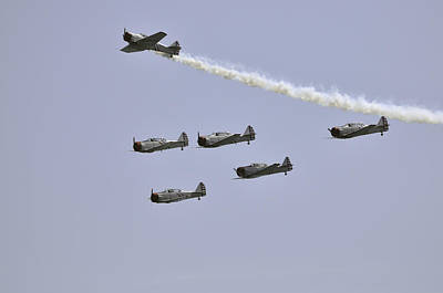 Photograph - Skytypers by Bradford Martin