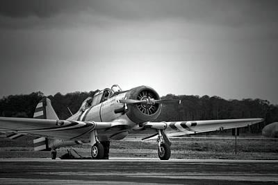 Aeronautical Photograph - Vintage World War II Aircraft by Christopher Jones