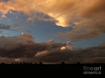 Photograph - Skyview Home by Scott B Bennett