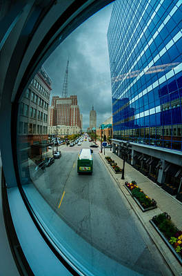 Photograph - Skywalk View by Randy Scherkenbach