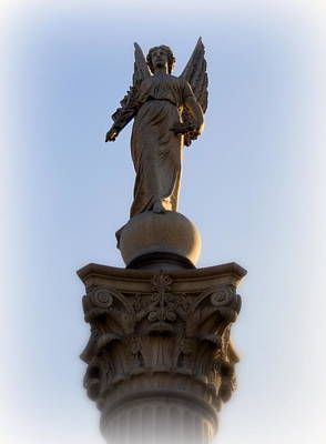 Photograph - Skyward Angel by Kay Novy