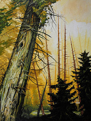 Painting - Skyward by Chris Steinken