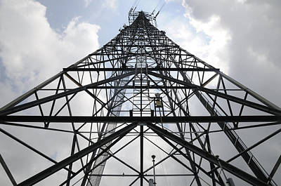 Photograph - Skyward View Of Tower by Bradford Martin