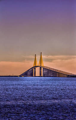 Skyway Sunset Print by Marvin Spates