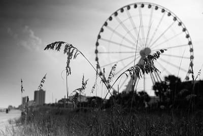 Myrtle Beach Photograph - Skywheel View by Ivo Kerssemakers