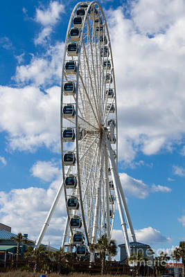 Photograph - Skywheel Xxv by Gene Berkenbile