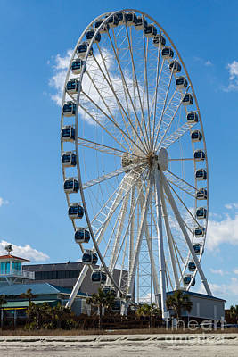Photograph - Skywheel Xxvii by Gene Berkenbile