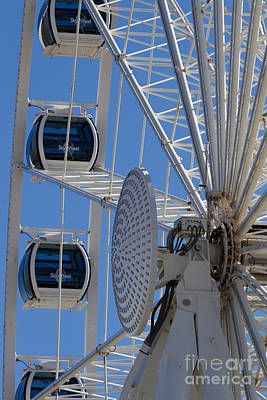 Photograph - Skywheel's Center II by Gene Berkenbile