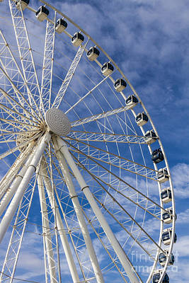 Photograph - Skywheel's Vip by Gene Berkenbile