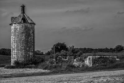 Fieldstone Photograph - Slabtown Ruins by CJ Schmit