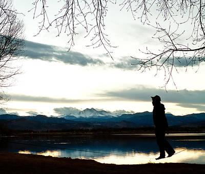 Photograph - Slackline Yogis by James BO Insogna