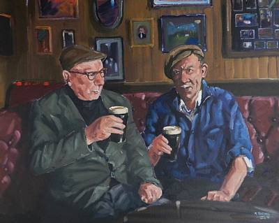 Painting - Slainte by Robert Teeling