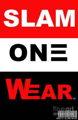 Digital Art - Slam One Wear by James Eye