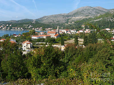 Photograph - Slano - Dubrovnik Riviera - Croatia by Phil Banks