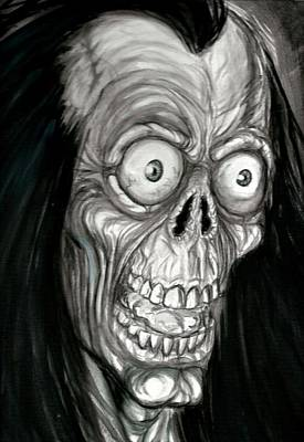 Universal Monsters Painting - Slappy by Jack Joya