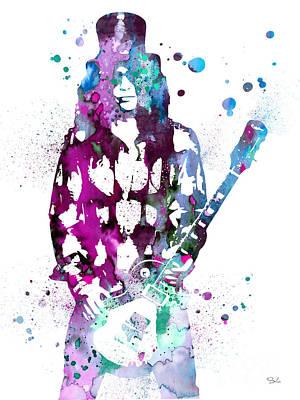 Slash  Art Print by Watercolor Girl