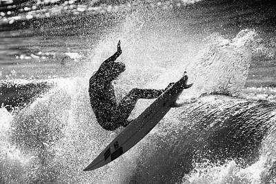 Surfing Photograph - Slash by Michele Chiroli