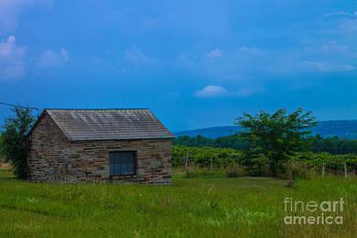 Slate Barn Near Keuka Lake Original