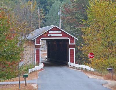 Photograph - Slate Bridge by MTBobbins Photography