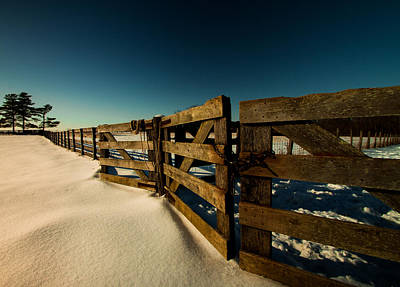 Photograph - Slate Run Gates by Haren Images- Kriss Haren