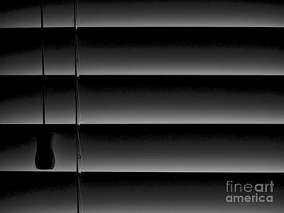 Photograph - Slats And Strings by Mark Miller