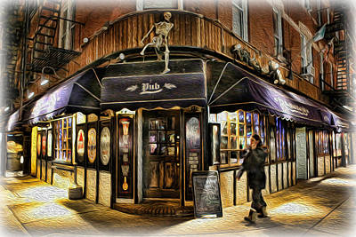 Coffeehouse Photograph - Slaughtered Lamb Pub by Lee Dos Santos