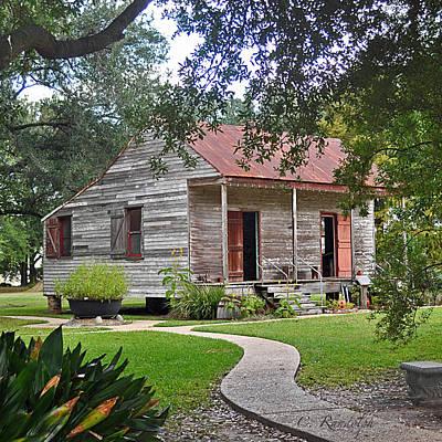 Photograph - Slave Cabin by Cheri Randolph