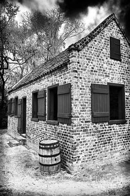Old School Houses Photograph - Slave House by John Rizzuto
