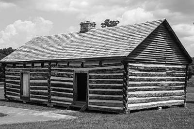 Photograph - Slave Quarters At The Hermitage by Robert Hebert