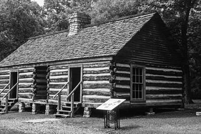 Photograph - Slave Quarters Belle Meade Plantation by Robert Hebert