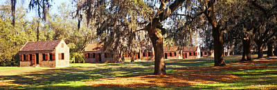 Slaves Photograph - Slave Quarters, Boone Hall Plantation by Panoramic Images