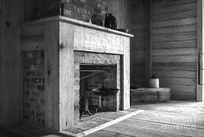 Photograph - Slave Quarters Interior 4 by Kathleen K Parker