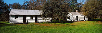 Slaves Photograph - Slave Quarters, Magnolia Plantation And by Panoramic Images